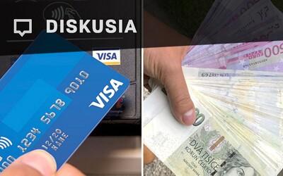 [Diskusia] Preferuješ platbu hotovosťou alebo kartou?