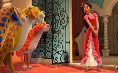 Disney ide s dobou a prináša prvú animovanú latino princeznú Elenu