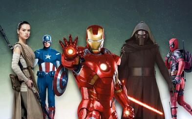 Disney má naplánované komiksové filmy od Marvelu a Star Wars příběhy až do roku 2030!