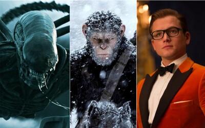 Disney potvrdilo, že bude pokračovať s filmovými sériami Votrelca, Planéty opíc a Kingsman