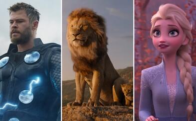 Disney vydělalo za rok 2019 více než 10 miliard dolarů a stává se prvním studiem v historii, kterému se něco takového podařilo