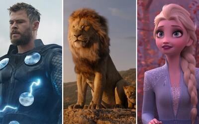 Disney zarobilo za rok 2019 viac ako 10 miliárd dolárov a stáva sa prvým štúdiom v histórii, ktorému sa niečo také podarilo