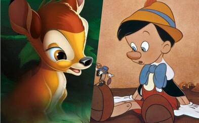 Disney znova zabije Bambiho mamu. Chystá hrané remaky pre Bambiho a Pinocchia