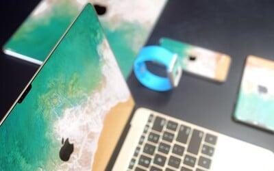 Displeje bez rámikov dostanú aj MacBooky či iPady. Pokochaj sa pohľadom na budúcnosť elektroniky