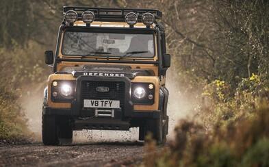 Divize Land Rover Classic vyrobí 25 kusů slavného Defendera ve speciální úpravě za skoro 6 milionů korun