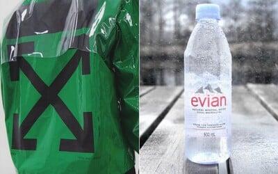 Dizajnér Virgil Abloh sa stáva kreatívnym poradcom značky luxusných vôd Evian