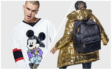 Dizajnérska kolekcia H&M x Moschino prinesie potlače Goofyho, Mickey Mousa, logo MTV či obrovské batohy