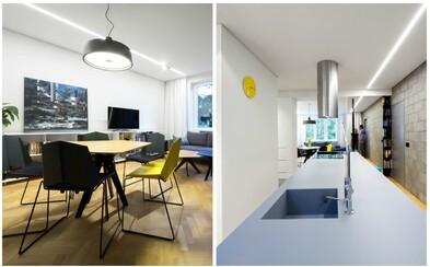 Dizajnová moderna a prvky minimalizmu zdobia byt v bratislavskom Novom Meste