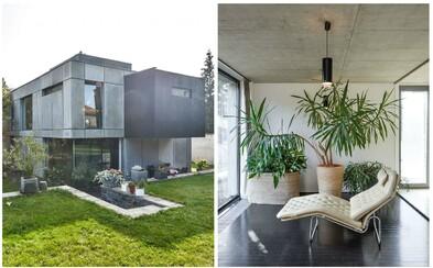 Designová moderna, prostorná zahrada a stromy v pozadí. Pražská nemovitost v hodnotě 35 milionů korun splňuje všechny požadavky