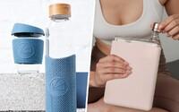 Dizajnové a ekologické fľaše, ktorými pomáhaš svojmu pitnému režimu aj ľuďom vo svete