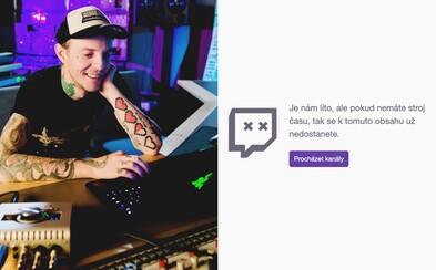 DJ a producent Deadmau5 zrušil svůj Twitch kanál, byl nařčen z homofobních nadávek