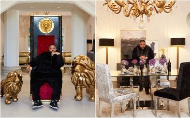 DJ Khaled přichází s kolekcí vlastního luxusního nábytku. Ve sbírce se nachází i obrovský trůn