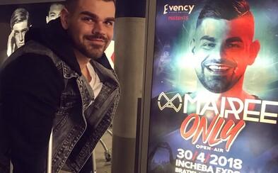 DJ Mairee a európska špička tanečnej hudby v pondelok ovládnu Bratislavu. Nenechaj si ujsť dvojhodinovú audiovizuálnu show