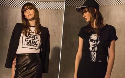 Dlho očakávané kúsky z kolekcie Karla Lagerfelda a značky Vans sú na svete! Milovníci módy sa majú na čo tešiť