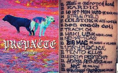 DMS uverejňuje najtupší tracklist histórie slovenskej hudby. Na coveri sú psy spojené zadkami