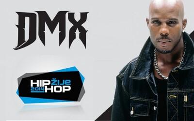 DMX headlinerom festivalu Hip Hop Žije