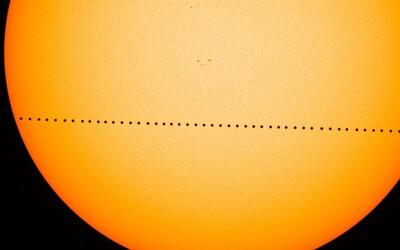 Dnes budeš moci sledovat přechod Merkuru před Sluncem. Měl by být vidět i z Česka