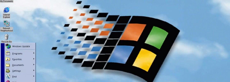 Dnes uplynulo 20 let od uvedení Windows 98. Vzpomeneš si na jeho podobu, zvuky a chybové hlášky?