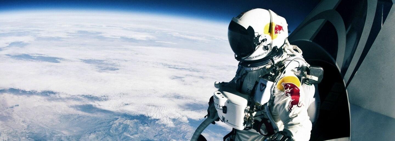 Dnes v minulosti - celý svet pozeral s úžasom v živom vysielaní zoskok Felixa Baumgartnera zo stratosféry