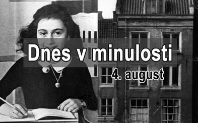Dnes v minulosti: Deň, keď Nemci zajali Annu Frankovú