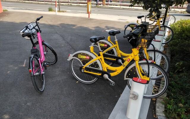 Do Bratislavy prišiel nový bikesharing Rekola. Ružové bicykle sme porovnali so SlovnaftBAjkom
