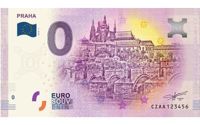 Do Česka přichází suvenýrová eurobankovka s nulovou hodnotou. Vydáno jich bude 10 tisíc