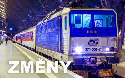 Do Česka přijdou velké vlakové změny, některé jízdenky přestanou platit. Přinášíme přehled toho, co cestující čeká