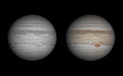 Do Jupitera opravdu narazil asteroid. Měl vážit 450 tun