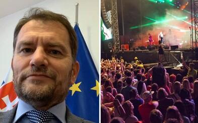 Do konca roka nepovolíme podujatia nad 1 000 ľudí, prognózuje Matovič. Na koncerty či festivaly tak zrejme Slováci musia zabudnúť