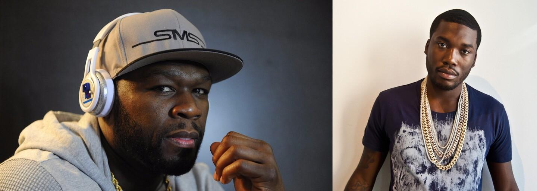 Do Meek Milla sa najnovšie naplno pustil aj 50 Cent, ktorý vracia úder perfektnými videami a obrázkami