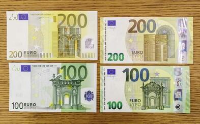 Do obehu vošli novučičké bankovky v hodnote 100 € a 200 €. Ako vyzerajú?
