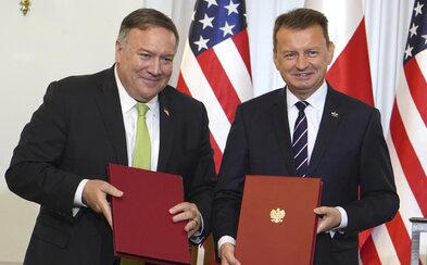 Do Polska přijede dalších 1 000 amerických vojáků. Varšava o to dlouho žádala, bojí se útoku Ruska