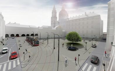 Do roku 2020 bude proměna Malostranského náměstí dokončena, prvotní práce na projektu již začaly