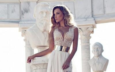 Do svatebních šatů od Julie Vino se zamiluješ na první pohled
