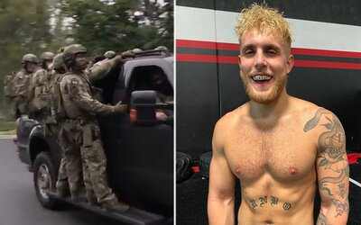 Do vily youtubera Jakea Paula vtrhla armáda příslušníků FBI