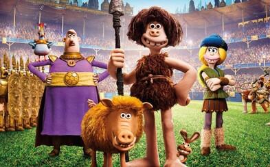 Doba kamenná je preč, nastupuje doba bronzová! Animovaná komédia Early Man od tvorcov Wallace & Gromit baví v ďalšom traileri