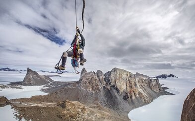 Dobrodruh a horolezec Cory Richards