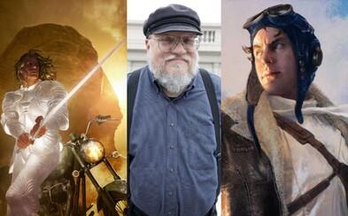 Dobrodružné sci-fi príbehy od autora Game of Thrones sa dočkajú seriálového spracovania