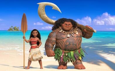 Dobrodružný animák Moana s Dwaynom Johnsonom a mladou kráskou odhaľuje svoj príbeh v prvých záberoch