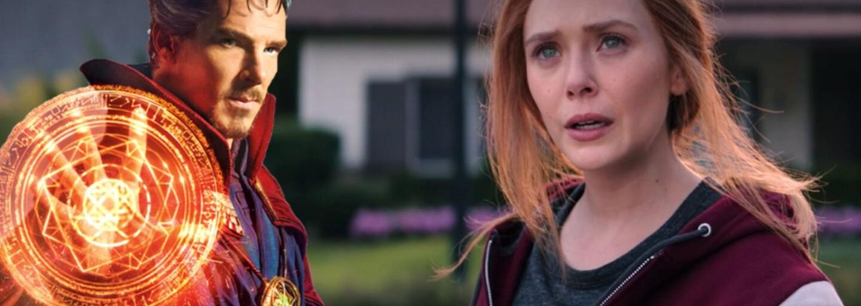 Doctor Strange sa mal objaviť vo finále WandaVision. Šéfovia štúdia Marvel však nechceli, aby situáciu zase zachraňoval beloch