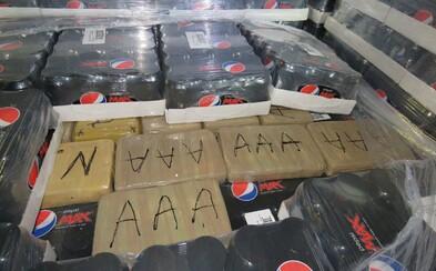 Dodávka Pepsi v sobě skrývala 17 kil kokainu za 22 milionů korun. Britští celníci ho objevili v bulharském kamionu