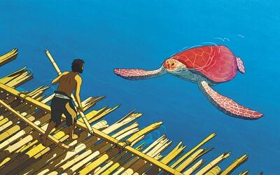 Dojemný animák o želvě, která sní o rodině s mužem na opuštěném ostrově vás dojme k slzám