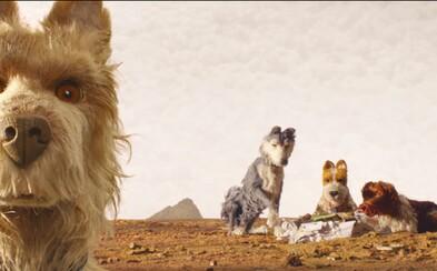 Dojímavý animovaný film od režiséra Grandhotelu Budapešť a Fantastic Mr. Fox odhaľuje trailer o hľadaní vyhodeného psíka na ostrove odpadkov