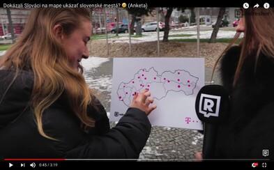 Dokázali Slováci na slepej mape rozpoznať naše mestá? (Anketa)