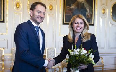 Dokážeme zastúpiť záujmy PS/Spolu, hovorí Matovič. Prezidentka Čaputová je rada, že si líder OĽaNO uvedomuje zodpovednosť