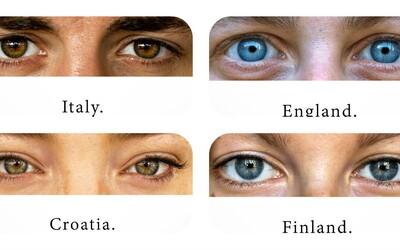 Dokážeš na základě očí uhádnout, odkud člověk pochází? Projekt ukazuje, že to vůbec nemusí být jednoznačné