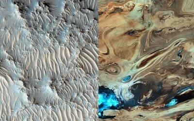 Dokážete rozoznať Mars od Zeme? Niektoré porovnania dajú naozaj zabrať