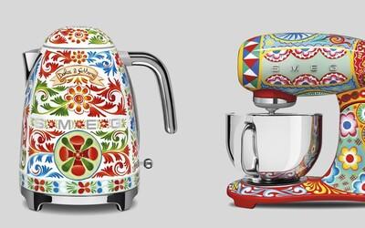 Dolce & Gabbana má nové kuchyňské spotřebiče. Nabídku tvoří stylový toastovač nebo rychlovarná konvice