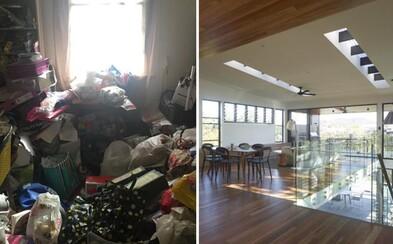 Dom plný odpadkov za 8 mesiacov premenili na luxusnú nehnuteľnosť. Nielenže zarobili, ešte aj našli mladej dvojici nové hniezdočko