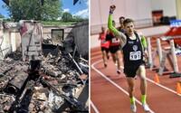 Dom zhorený do tla a zdravotné problémy. Peter aj napriek prekážkam naďalej reprezentuje Slovensko